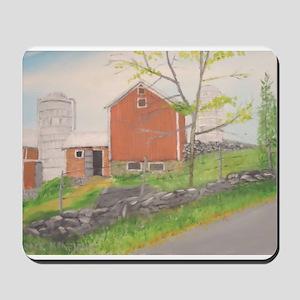 Barn in Fall - Warwick NY Mousepad