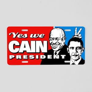 Cain - Bunny Ears Aluminum License Plate