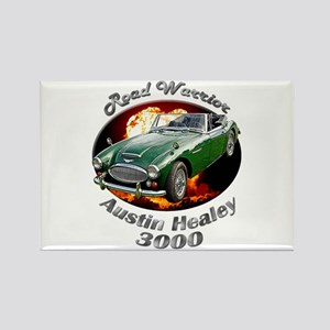 Austin Healey 3000 Rectangle Magnet (10 pack)