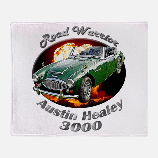 Austin Healey 3000 Throw Blanket