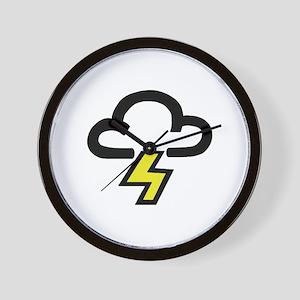 'Lightning' Wall Clock