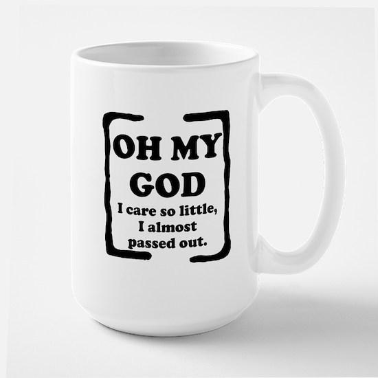 Oh My God Large Mug