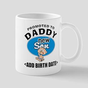Funny Personalized New Daddy Mug