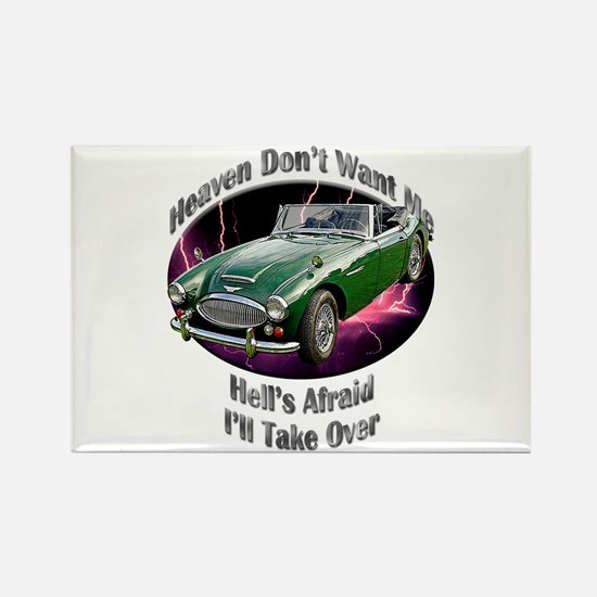 Austin Healey 3000 Rectangle Magnet (10 pack)