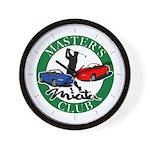 Masters Miata Club Wall Clock