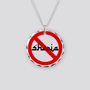 OBAMA DISASTER Necklace Circle Charm