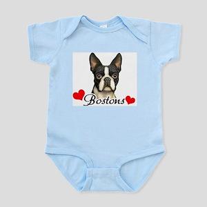 Love Bostons Infant Bodysuit