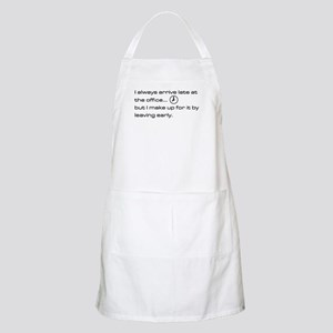 'Late At The Office' Apron