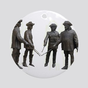 French Musketeers Ornament (Round)