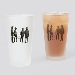 French Musketeers Drinking Glass