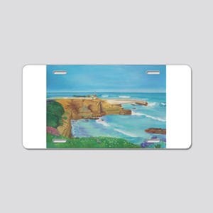 Children's Cove Springtime Aluminum License Plate