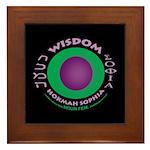 Framed Wisdom Tile