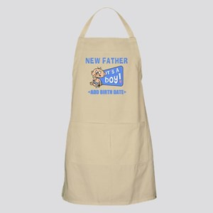 Funny Personalized New Father Apron