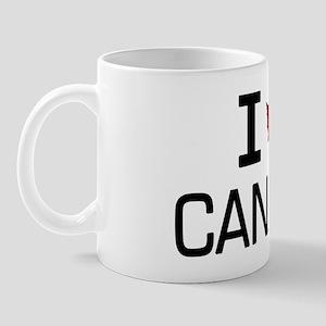 'I Love Canada' Mug