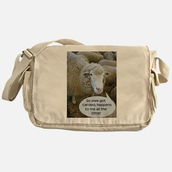 Carded, eh? Messenger Bag