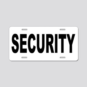 Security Aluminum License Plate