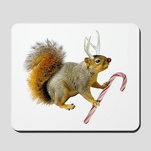 Reindeer Squirrel Mousepad