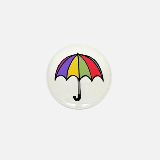 'Umbrella' Mini Button
