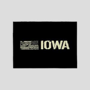 Black Flag: Iowa 5'x7'Area Rug