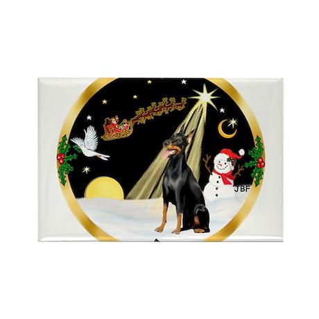 Night Flight/Dobie #1 Rectangle Magnet (10 pack)