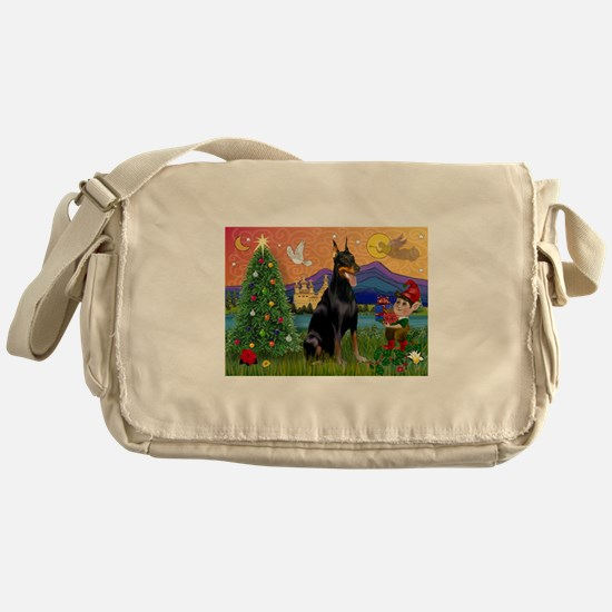 Dobie Xmas Fantasy Messenger Bag
