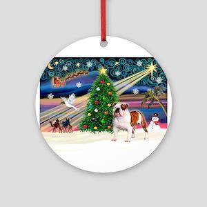 Xmas Magic & EBD Ornament (Round)