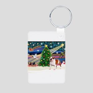 Xmas Magic & EBD Aluminum Photo Keychain