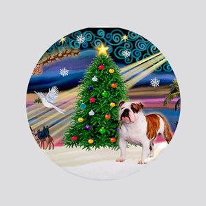 "Xmas Magic & EBD 3.5"" Button"