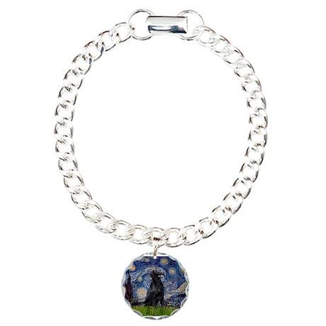 Starry Night FCR Charm Bracelet, One Charm