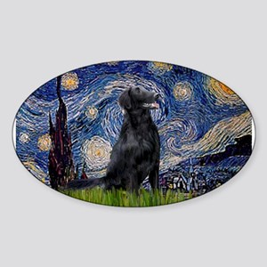 Starry Night FCR Sticker (Oval)