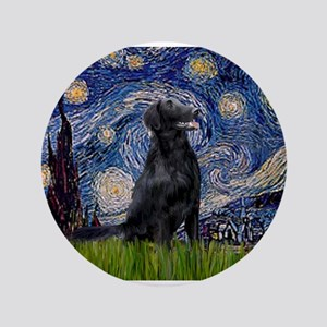 """Starry Night FCR 3.5"""" Button"""