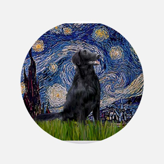 "Starry Night FCR 3.5"" Button"