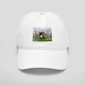 Blossoms & French Bulldog Cap
