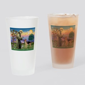 St Francis / G Shep Drinking Glass