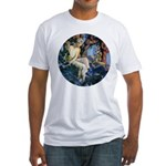 Queen of the Gnomes Fitted T-Shirt