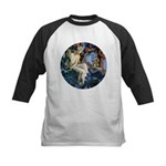 Queen of the Gnomes Kids Baseball Jersey