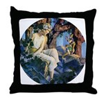 Queen of the Gnomes Throw Pillow