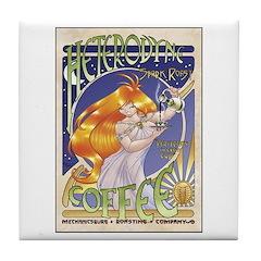 Spark Roast Coffee Tile Coaster