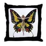 Queen of the Fairies Throw Pillow