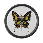 Queen of the Fairies Large Wall Clock