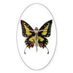 Queen of the Fairies Sticker (Oval 10 pk)