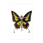 Queen of the Fairies Sticker (Rectangle 50 pk)