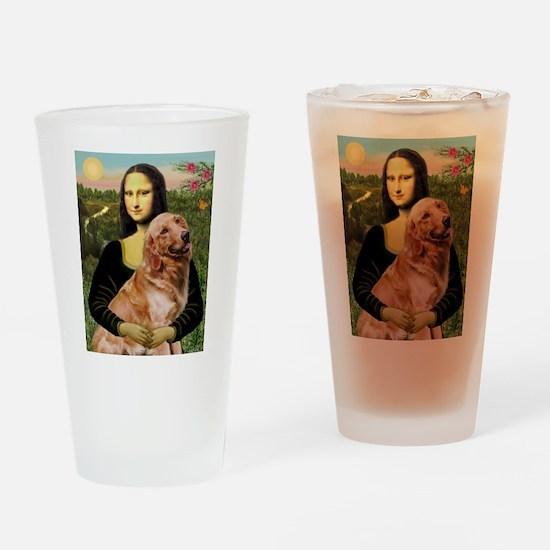 Mona's Golden Drinking Glass
