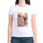 Twilight Fairies Jr. Ringer T-Shirt