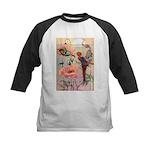 Twilight Fairies Kids Baseball Jersey