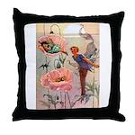 Twilight Fairies Throw Pillow