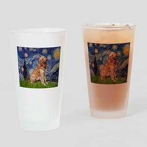 Starry / Golden (B) Drinking Glass
