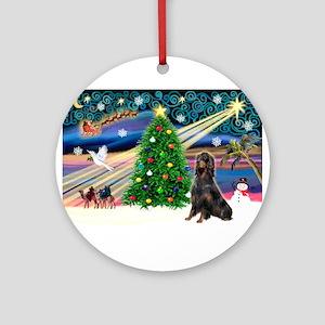 Xmas Magic & Gorden Set Ornament (Round)