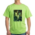 Queen of the Gnomes Green T-Shirt
