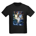Queen of the Gnomes Kids Dark T-Shirt